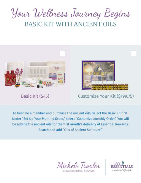 Ancient Oils Order Form