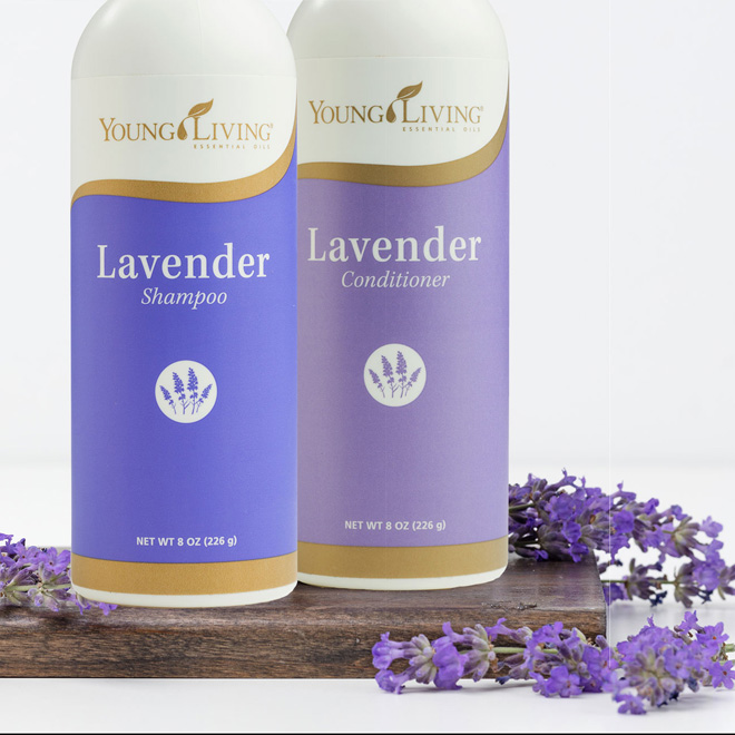 Lavender Shampoo and Conditioner